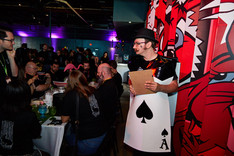 Giant Cards Stroller, An Immersive Alice in Quantumland Adventure, Wonderland Themed Party Idea, Corporate Party At Austin, Dallas, Houston, San Antonio Texas