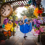 Alice the Party Wanderer, Wonderland Theme Party Main Character, Entertainer, Entertainment Event Texas, CIRCUS PICNIC Wonderland Theme Corporate Party Idea