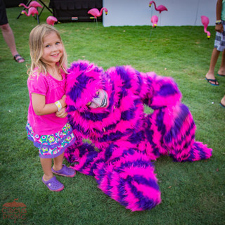 Get Teased by a Cheshire Cat, Kids Fun Experience with the Party Cat, Wonderland Character, Entertainer, Performer at Corporate Event In Texas