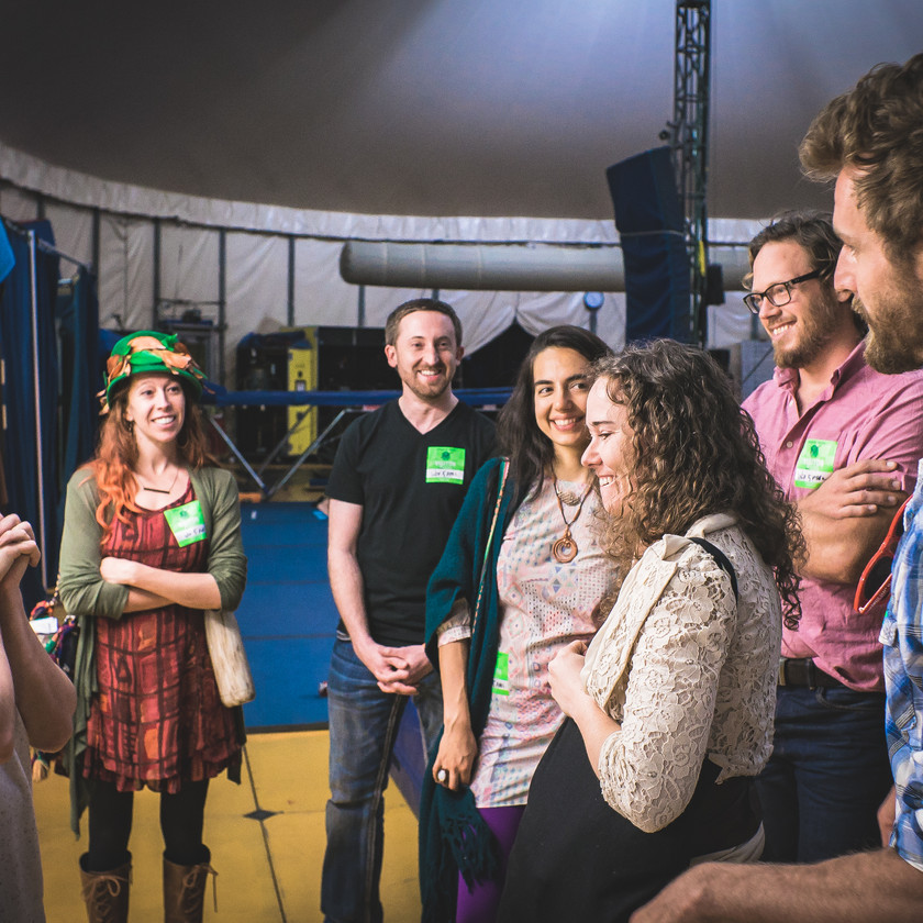 Treehouse Tribe in Kurios Show, Clowning Workshop, Circus Picnic Entertainment Show, Fun and Magical Experience