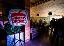 CIRCUS PICNIC Spectacular, Texas Night of Fun and Magical Circus Style Event Entertainment and Creativity