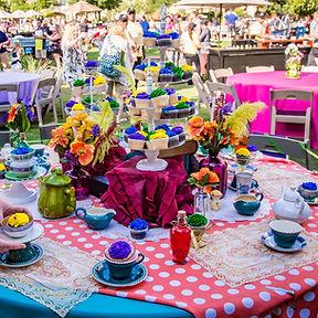 Wonderland Tea Party in Austin company picnic
