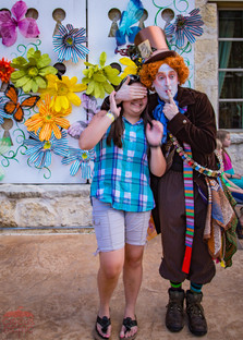 Mad Hatter Playing Tricks, Surprising Guest at Wonderland Party, Fun Unique Party Experience, CIRCUS PICNIC Wonderland Theme Party, TX