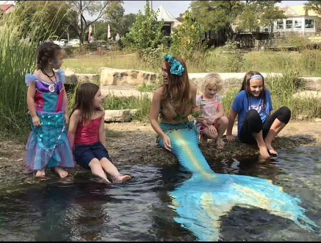 Mermaids by the River, Guest Fun Experience, Fantastic Mermaid Themed Company Picnic at Dallas Texas, CIRCUS PICNIC Circus Themed Party Idea