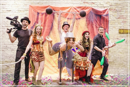 Circus Entertainers Photoshoot, CIRCUS PICNIC Magical Theme Party Ideas
