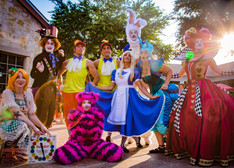CIRCUS PICNIC Actors & Actresses, Wonderland Entertainers, Performers, Event Entertainment, Circus Style Party, Wonderland Themed Corporate Party Austin Texas