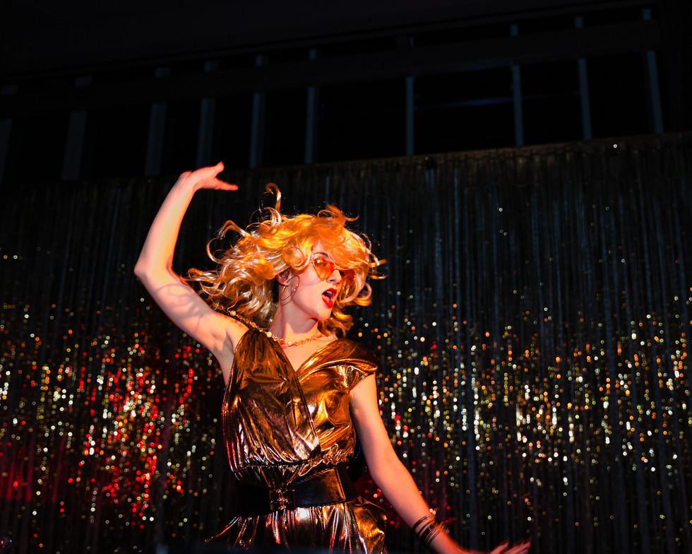 Cheerful GoGo Dancer