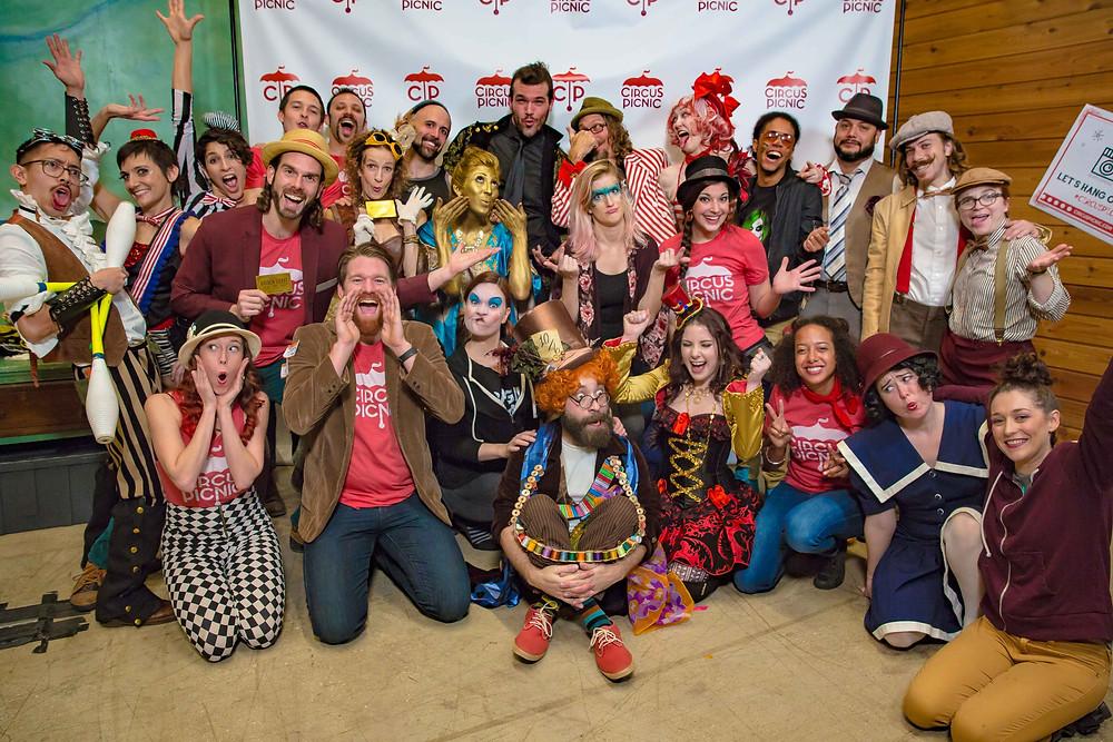 CIRCUS PICNIC Crew @ CP Spectacular Event 2018