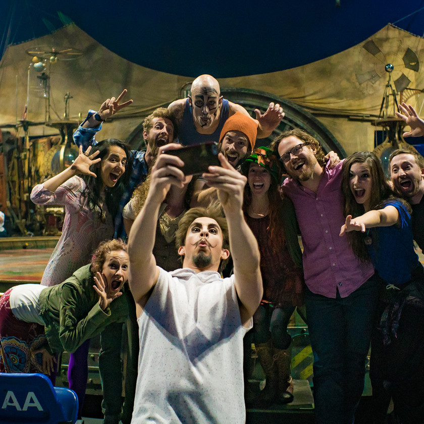 Extraordinary Adventure, CIRCUS PICNIC Tribe Workshop Visit at Cirque du soleil