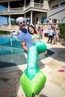 Mermaids and Guest Encounter, Magical and Mermaid Theme Party,  CIRCUS PICNIC, Austin Texas Fantasy Styled Entertainment Event
