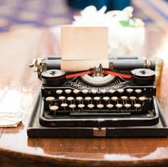 Vintage Typewriter Poet