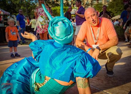 Guest Fortune Teller Encounter, Wonderland Magical Way of Telling Fortune, Wonderland  Entertainment, CIRCUS PICNIC Wonderland Theme Party. Texas