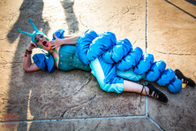 The Sleepy Head Caterpillar, Entertainers, Performers, Wonderland Theme Party Idea, CIRCUS PICNIC Artistic Event, Texas