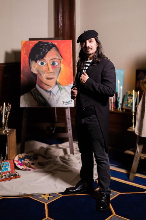 CIRCUS PICNIC Picasso Actor