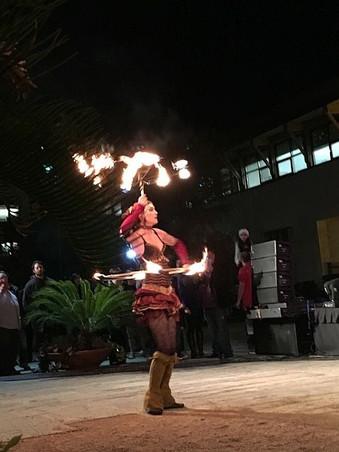 Carnival Fiery Entertainment