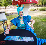 Wonderland Blue Fortune Teller