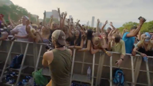 Jefe Greenheart, filming at ACL Music Fest