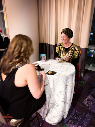 Fortune Telling Guest Encounter