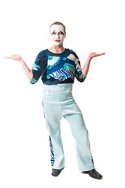 Corporate Event Entertainers, Mime Strolling Characters at Cirque Style Company Party, Corporate Party Scheme