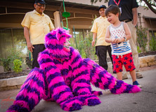 Make Fun with the Cheshire Cat, Wonderland Characters, Entertainers, Performers, Fantasy Land Circus Themed Corporate Party, Texas