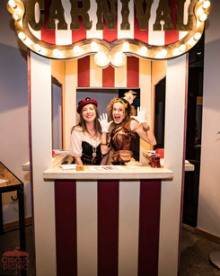 Entrancing Entrance Booth, CIRCUS PICNIC Spectacular Party, Themed Party Ideas for your Next Corporate Celebration Texas