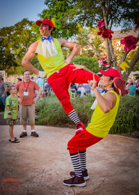 Tweedle Amazing Acrobatic Move, Live Acrobatic Performance at Wonderland Themed Corporate Party in Texas, CIRCUS PICNIC Circus Style Event Entertainment