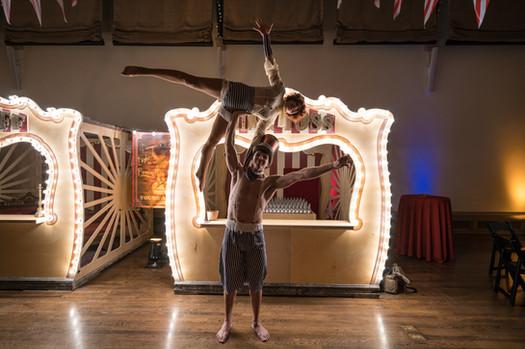 Carnival Acrobats Display