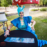 Circus Mystical Fortune Teller, Wonderful Dreamland Corporate Party Experience, CIRCUS PICNIC First Class Wonderland Theme Corporate Event
