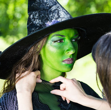Wicked Witch Body Painters Available for events