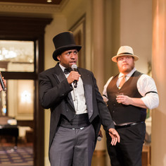 Musician and Writer at 1920's Murder Mystery event