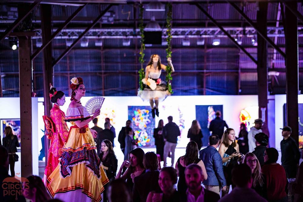 Interactive art Experience, Austin Texas Art Show