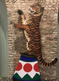 The Tigers on the Wall, Art Expressions, Photo Booth, CIRCUS PICNIC Circus Styled Party Ideas, Texas