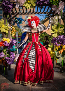 The Queen is looking for Alice, Get lost in Wonderland Theme Corporate Party, Circus Picnic Theme Party Ideas, Texas First Class Artistic and Creative Experience