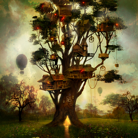 MR. GREENHEART'S TREEHOUSE
