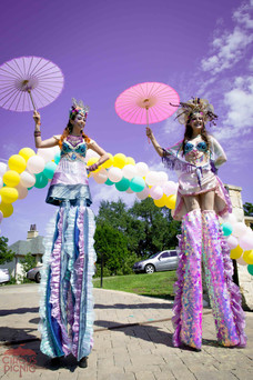 Entrancing Entrance Princesses, Entertainers, Performers, Talents, CIRCUS PICNIC Mermaid Themed Corporate Party Concept, Mystical Design, Theme Party Experience