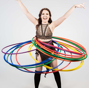 Professional Hula Hoop Performers in Cental Texas