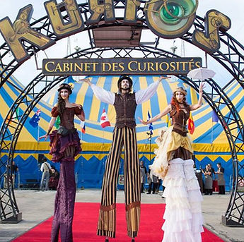 Highly Professional Steampunk Themed Stilt Walkers in Central Texas