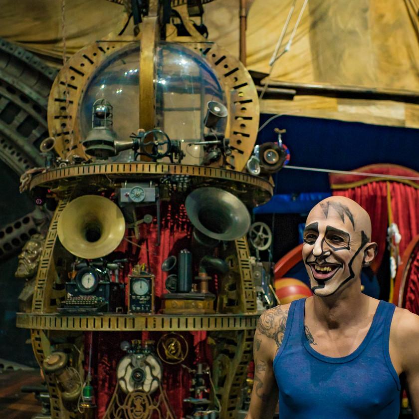 Aerial Rigging Machines, Cirque Show Master, Cirque Du Soliel Kurios Show, CIRCUS PICNIC Adventure and Workshop, Texas