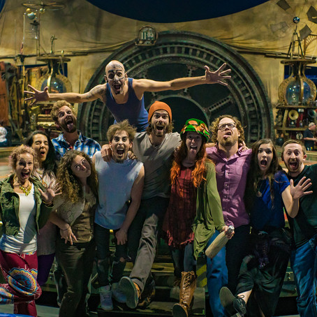 THE TREEHOUSE TRIBE VISITS CIRQUE DU SOLEIL