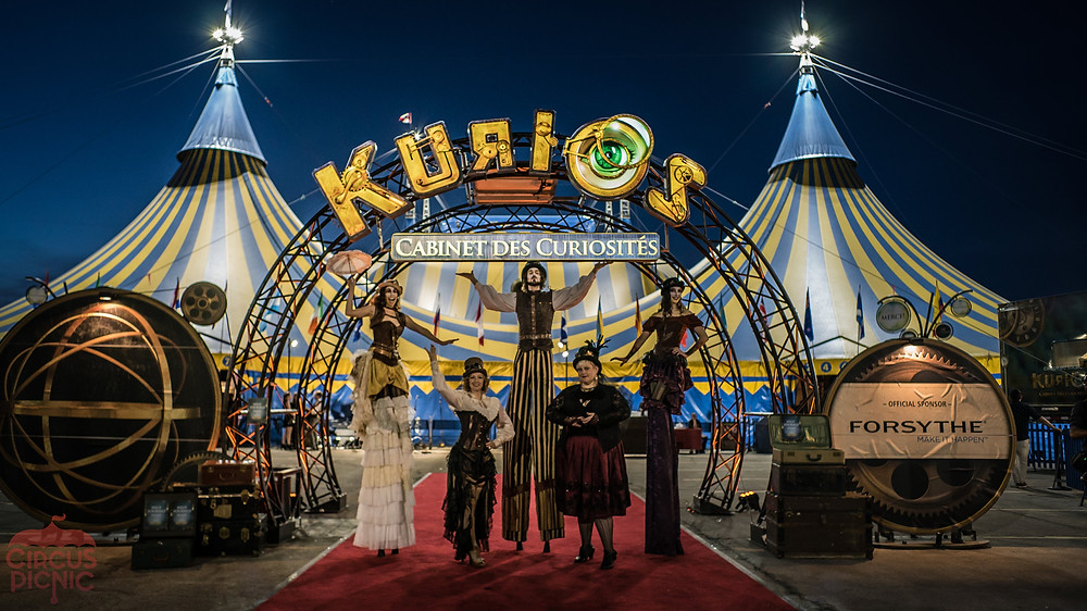 CIRCUS PICNIC Performing for Cirque Du Soleil's Kurios Show