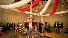 The Vintage Carnival Acrobats, The 1920's Wooden Nickel Carnival Theme Convention Event, CIRCUS PICNIC Theme Party Ideas, Texas