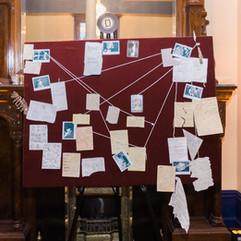CIRCUS PICNIC Murder Mystery Clue Board