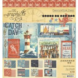 CATCH OF THE DAY 8X8 PAPER PAD