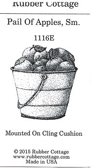PAIL OF APPLES SM
