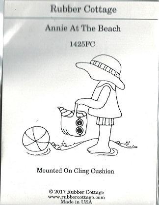ANNIE AT THE BEACH