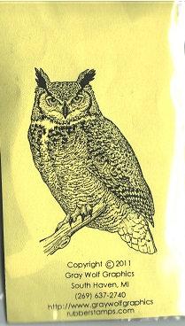BIR5022   HORN OWL