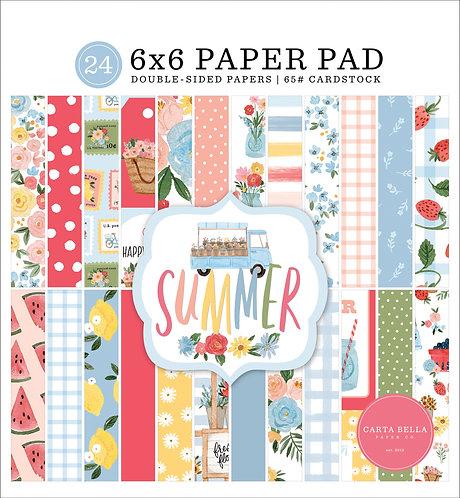 SUMMER 6X6 PAPER PAD