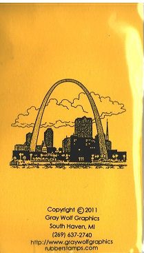 ST LOUIS ARCH   MS8022