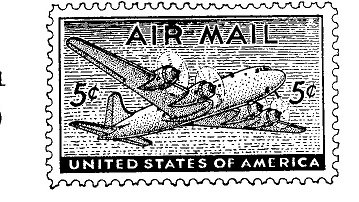 5 cents air mail MS 8011& 10 cents air mail MS 8010
