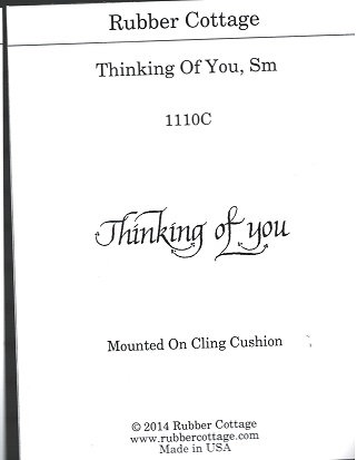 THINKING OF YOU SM